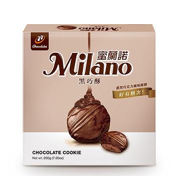 蜜蘭諾黑巧酥200g,愛買線上購物,餅乾飲料館 -friDay購物