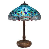 Tiffany Style Blue Dragonfly Table Lamp - Hot Girls Wallpaper