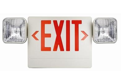 Exit Lights With Emergency Lights