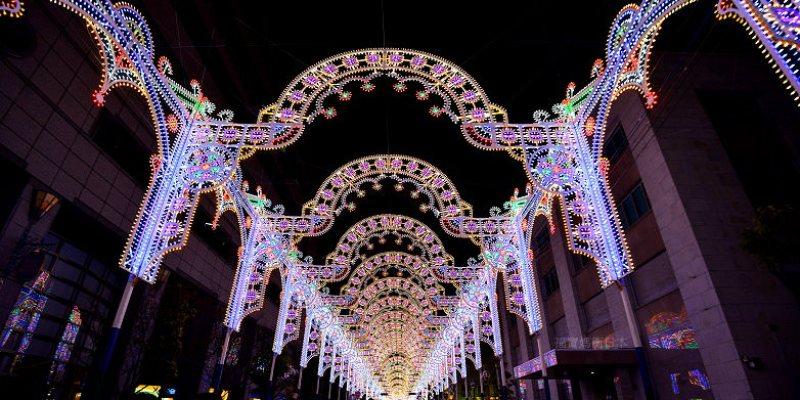 神戶Luminarie(神戸ルミナリエ)2018光之祭典開催,華麗盛大光雕饗宴