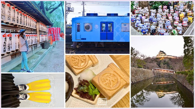 【大阪景點】南海電鐵二日券行程,堺市景點美食攻略,和歌山加太吉慶鯛列車,犬鳴山溫泉美肌一日遊