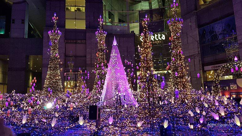 2019東京聖誕節~汐留Caretta超夢幻浪漫首選,每年都要看也看不膩
