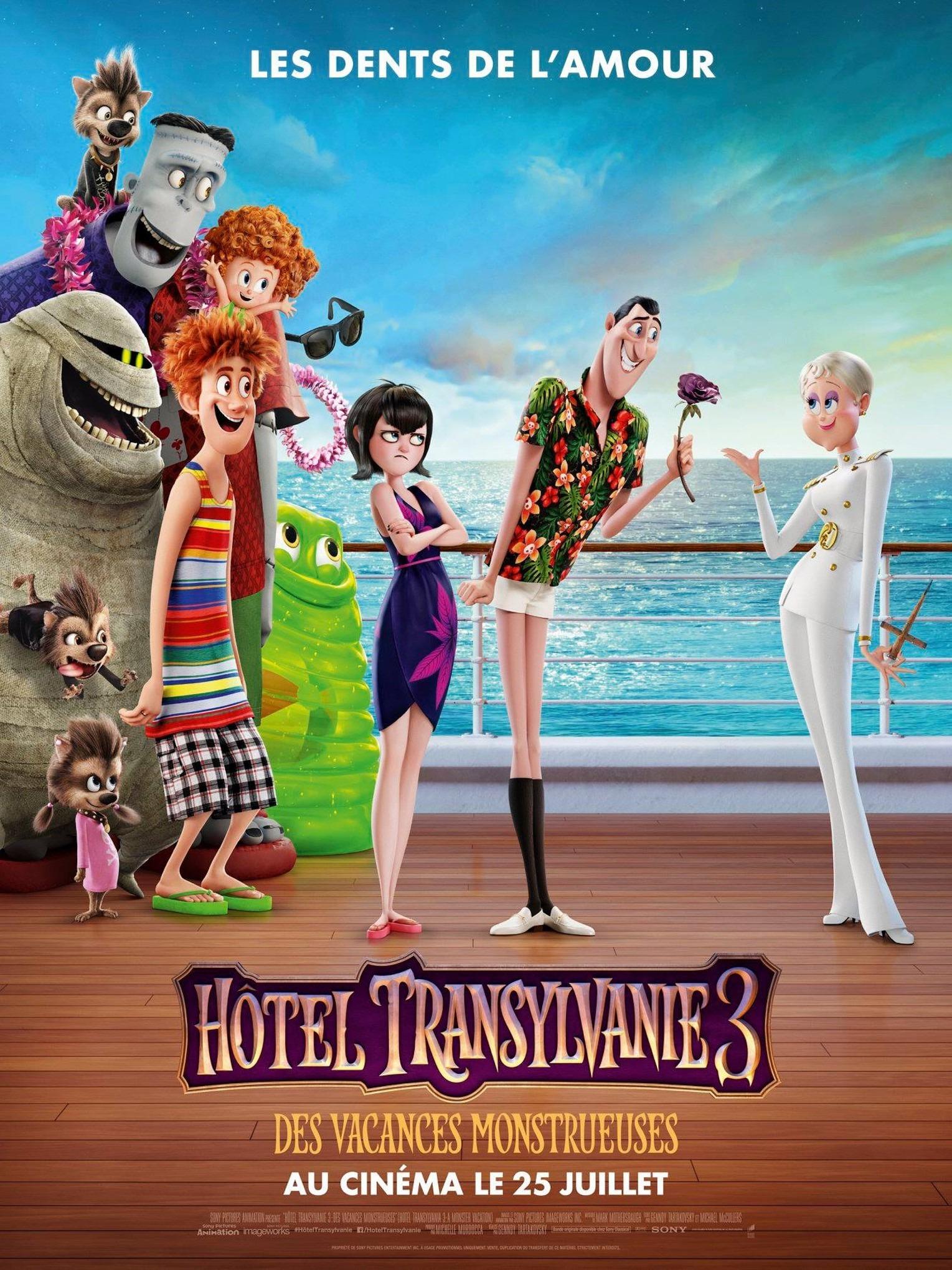 Hotel Transylvania 3 Summer Vacation Poster 6 Extra