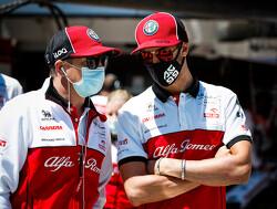 Antonio Giovinazzi apprenticed to master Kimi Raikkonen