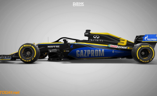 Gazprom Could Become Primary Sponsor Of Renault Or Alpha