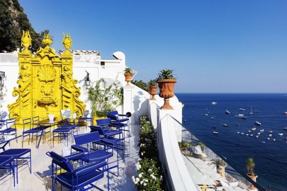 Costiera Amalfitana I migliori alberghi a strapiombo sul