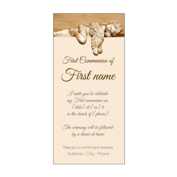 first holy communion invitations free