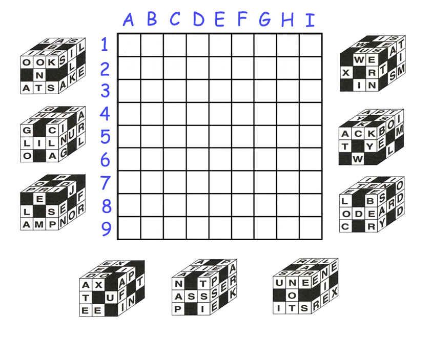 GCTYJX Cube Crossword (Unknown Cache) in Ontario, Canada