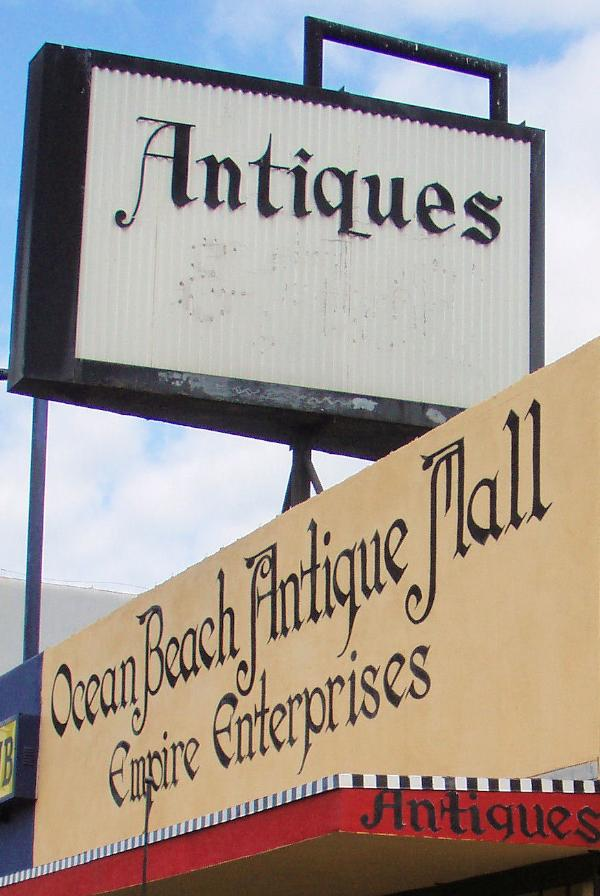 Ocean Beach Antique Mall : ocean, beach, antique, Ocean, Beach, Antique, Diego,, Shops, Waymarking.com
