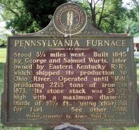 Pennsylvania Furnace - Argillite, KY - Kentucky Historical ...