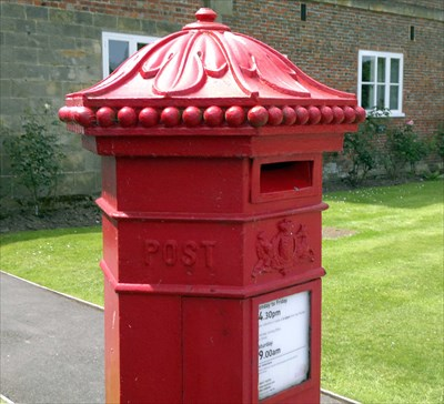 Hexagonal Post Box