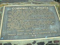 Cornwall Furnace-CCHS-Cherokee County - Alabama Historical ...