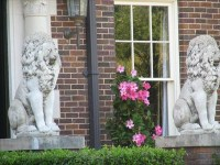 Front door Lions - Fort Worth, Texas - Lion Statues on ...