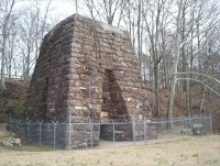 Cornwall Furnace - Cedar Bluff, AL - Iron Furnace Ruins on ...