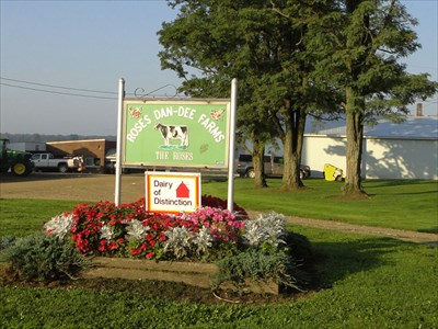 Roses DanDee Farms  Spartansburg PA  Named Farms and