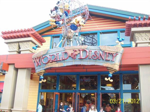 World Of Disney Store Orlando