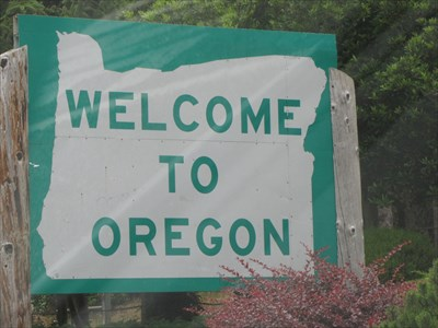 Image result for welcome to oregon sign