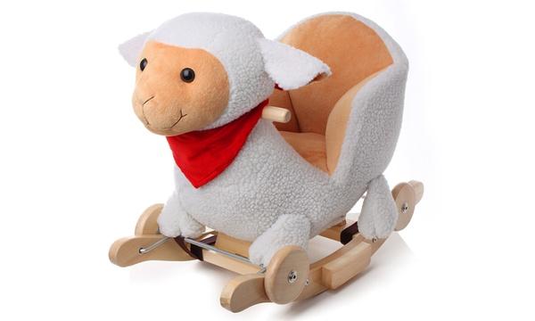 mouton sonore a bascule 2 en 1 kinderkraft
