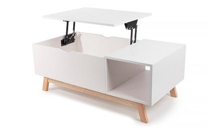 table basse relevable scandinave a 59 90 60 de reduction