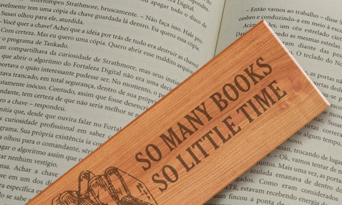monogram online personalized bookmark