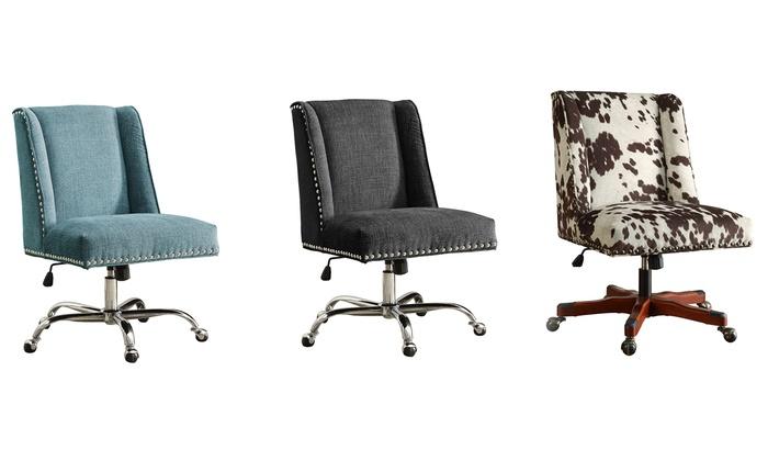 desk chair groupon wooden sling beach chairs zander office goods