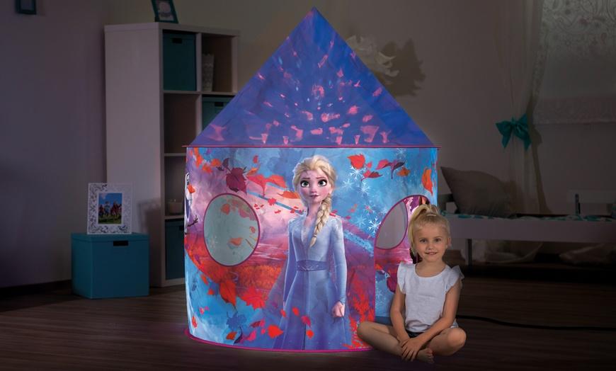 tentes de jeu pour enfants la reine des neiges 2 disney lumineuse ou chateau