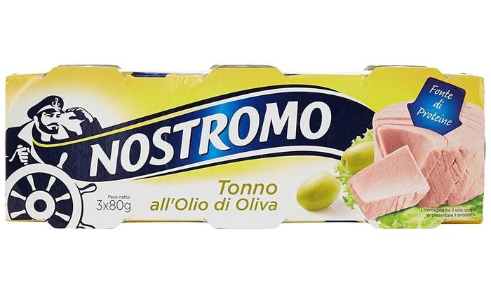 Fino a 120 lattine di tonno Nostromo  Groupon Goods