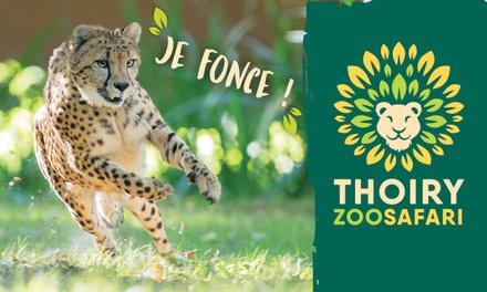 Un billet adulte ou enfant à 19,90 € à la découverte du ZooSafari de Thoiry du 19 Août au 19 Octobre 2019