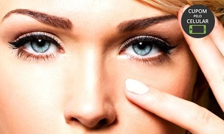 Padma Podologia e Estética   Centro:1 ou 2 visitas com design de sobrancelhas (opção com henna)