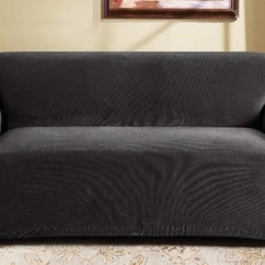 Sure Fit Stretch Pearson 3 Pc Sleeper Sofa Slipcover Full Amazon Cover Groupon Goods