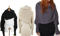 Convertible Shawl with Sleeves | Groupon