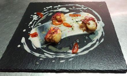 Menu di pesce di 3 o 4 portate con crudité e vino al Ristorante Sughero, in centro a Mestre (sconto fino a 46%)