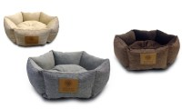 AKC Snuggly Cuddle-Cup Pet Bed | Groupon