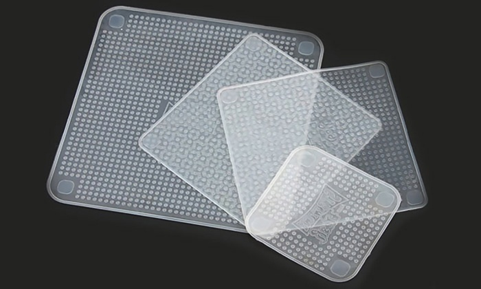 Tapa de silicona ajustable para alimentos  Groupon