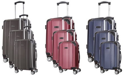 Set 3 trolley Travel One disponibile in 4 colori
