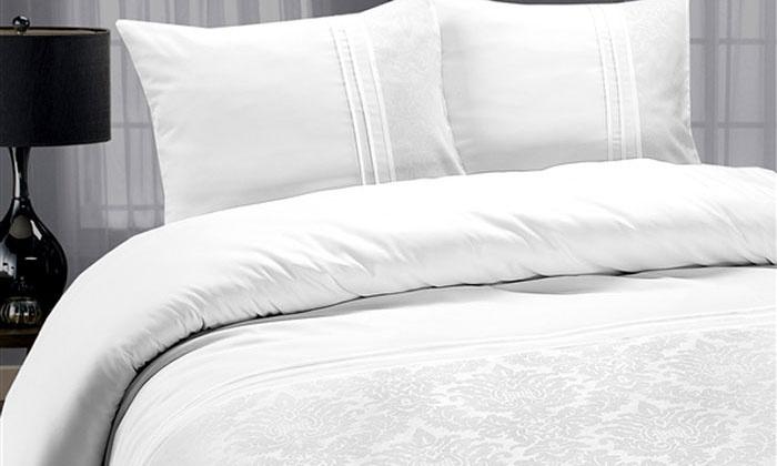 Luxe dekbedovertrekken van hotelkwaliteit  Groupon Goods