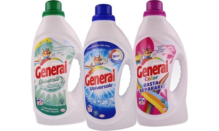 Detersivo liquido General 1365 ml  Groupon Goods