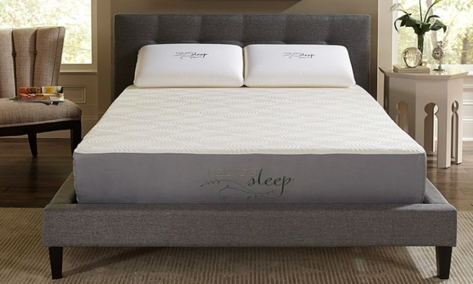 Nature S Sleep 10 Memory Foam Mattresses With Optional Foundation Cool Iq