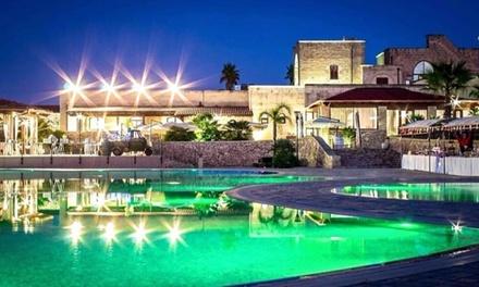 Lecce: 1 notte per 2 persone con colazione, cena tipica pugliese, Spa e massaggio al Ristoppia Hotel 4*