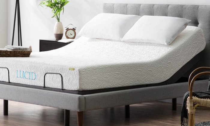 Up To 19 Off On Lucid L300 Adjustable Bed Base Groupon