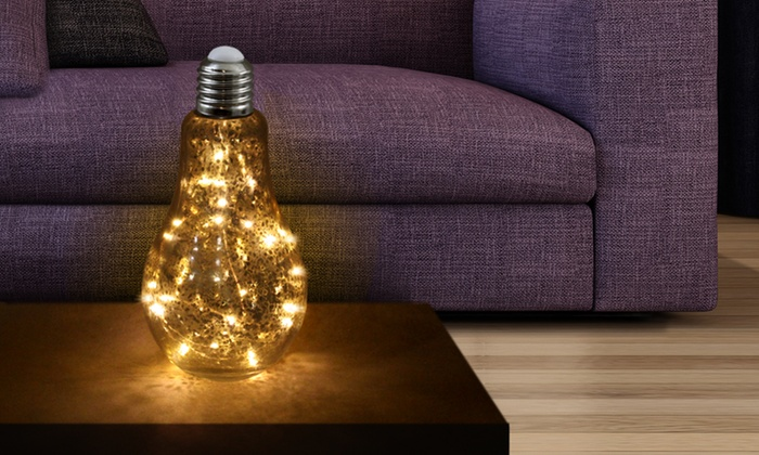 Gloeilamp met 20 led lampjes  Groupon