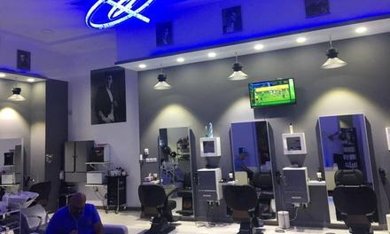 Gents ManiPedi and Foot Scrub  Blue Shadows Gents Salon  Groupon