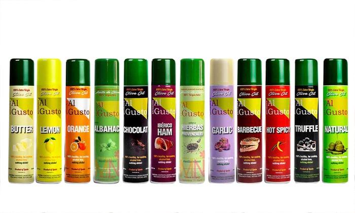Fino a 50 su Set olio spray vari aromi  Groupon