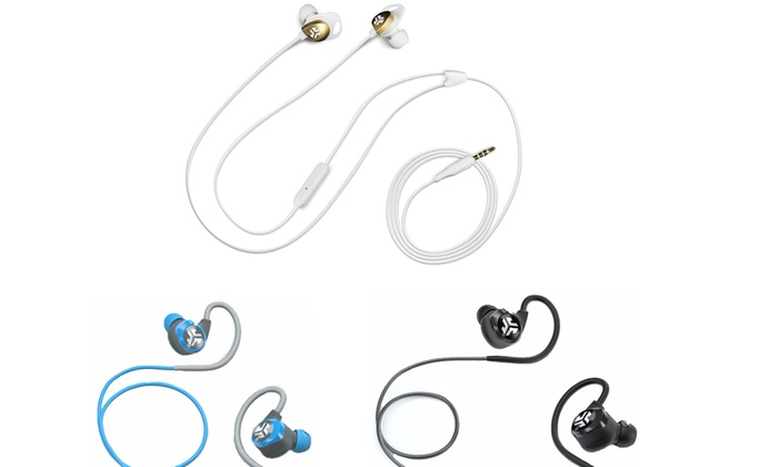 Epic Bluetooth 4.0 Wireless Splash-Proof Earbuds with 10