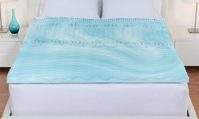 Authentic Comfort 3 Orthopedic 5 Zone Foam Mattress Toppers