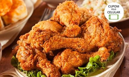 Uai Fried Chicken   Cachoeirinha: box drumete (coxinha da asa) para 2 pessoas ou balde para 4 + fritas + molho