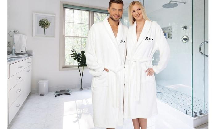 monogrammed bathrobes
