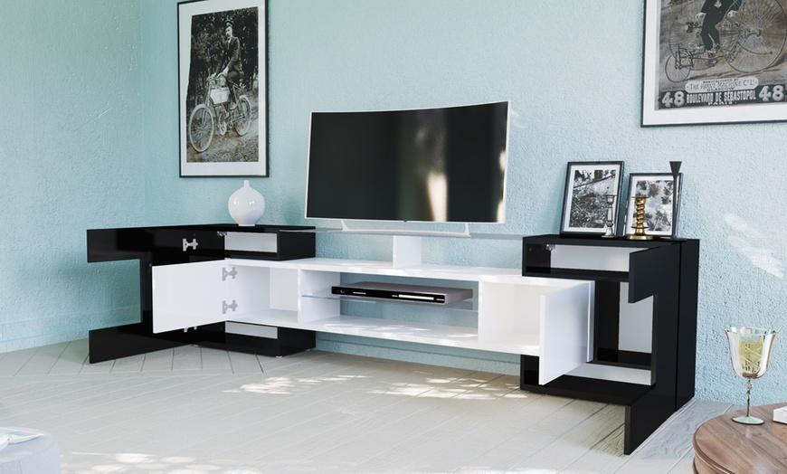 petroleum petroleum osszejonni meuble tv italien