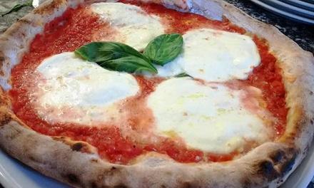 Menu pizza a km 0 con dolce e birra per 2 persone al ristorante Riso e Farina di Pombia (sconto fino a 61%)