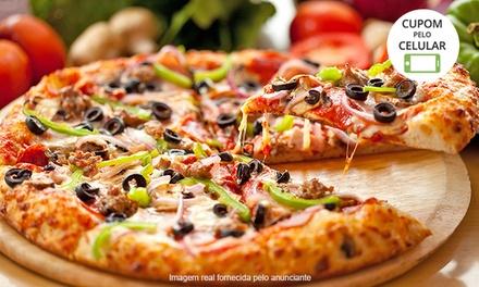 Rodízio de pizzas (opção com refrigerante) no Strada Pizza Grill – Vila Isabel